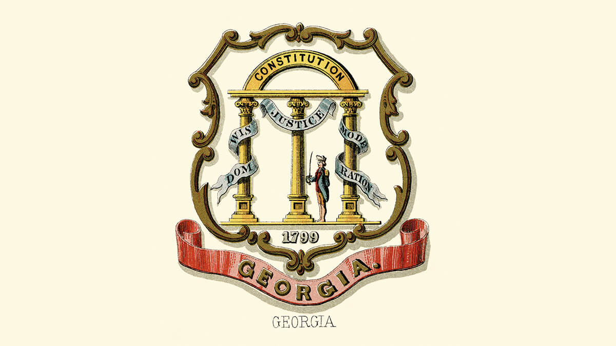 the Georgia coat of arms